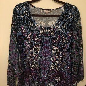 Roz & Ali blouse XL
